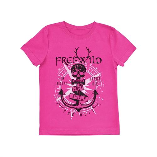 Frei.Wild - Brixen Store Pink, Kinder Shirt
