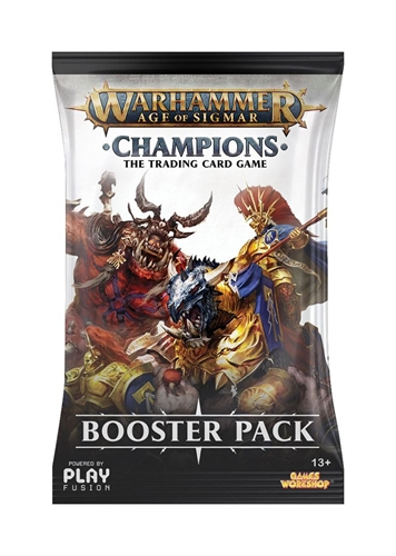 Warhammer Age of Sigmar - Champions Wave, Booster Pack EN