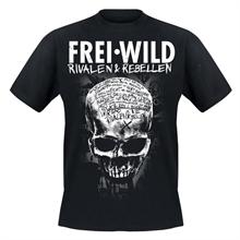 Frei.Wild - Brixen Shop R&R Skull, T-Shirt