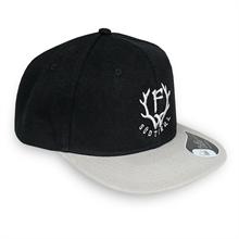 Frei.Wild - Brixen Shop F-W, SnapBack Cap (sw/grau)